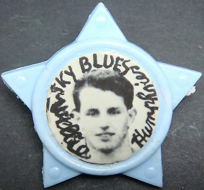 COVENTRY CITY RARE Vintage player WILLIE HUMPHRIES 62-65 Star badge 33mm x 31mm