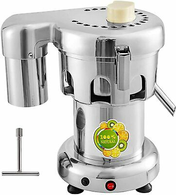 Commercial Fruit Power Juicer Heavy Duty Stainless 60~80KG/H 370W