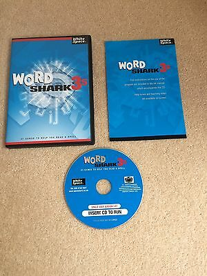 WORD SHARK V.3s PC-CD WHITE SPACE FOR CHILDREN WITH LEARNING DIFFICULTIES
