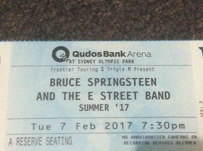 2 Tickets To Bruce Springsteen