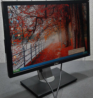 "Dell Professional P2210Hf Tft Monitor 24"" Inch Free Power And Vga Cable E62"
