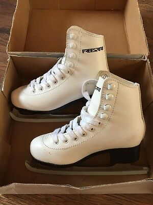 Ice Skates White Size 11 Junior