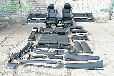 Bmw E93 Convertible M3 M Sport Complete Leather Interior Seats Cards Armrest