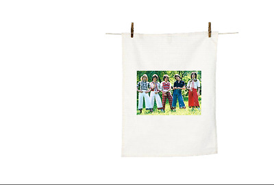 Les Mckeown Alan Woody And The Bay City Rollers Coloured Brand New Tea Towel