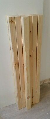 Pine Stop Chamfered Stair Spindle 41 x 895mm