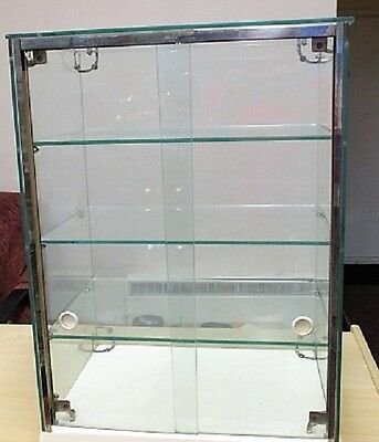 COUNTER TOP RETAIL GLASS DISPLAY CABINET (1930s)