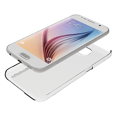 NEW Promate 'Crystal-S6' Crystal Clear Protective Shell Case for Samsung Galaxy