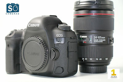 Canon EOS 5D Mark IV DSLR Camera Body with EF 24-105mm f/4L II Lens Kit