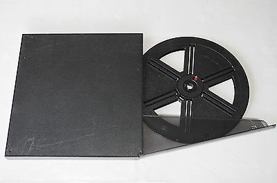 Carl Schneider 800' Super 8 Auto Reel & Can Nice!