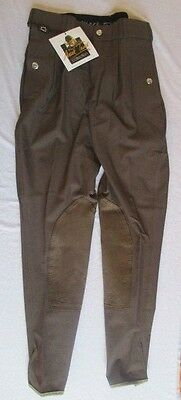 Mark Todd Auckland Mens Breeches - Chocolate - Size 28