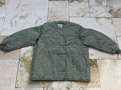 Aircrew Liner M65 Fieldjacket Cold Weather Jagd Unterzieh Weste US Army USAAF S