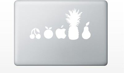 Macbook fruits decal sticker pro air 11 13 15 17 retina laptop apple funny cute