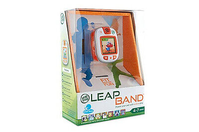 LeapFrog LeapBand New in Box, Orange - Helping Kids Get Active & Healthy