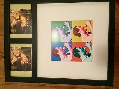 Freddie Mercury Millenuim Stamps In Picture