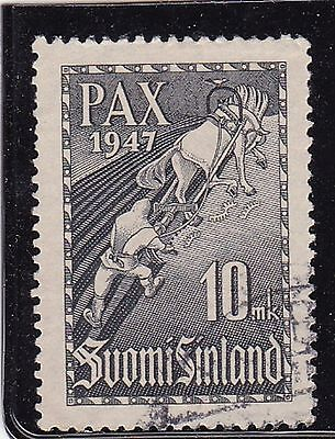 FINLAND #265 USED 2nd YEAR OF PEACE