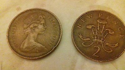 2p 1971 -NEW PENCE