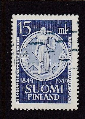 Finland #288 Used Centenary Founding Of The Technical School