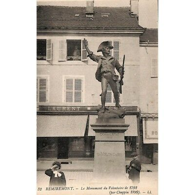 [88] Remiremont - Le Monument du Volontaire de 1792.
