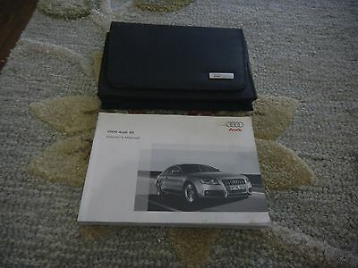 2008 Audi S5 Owners Manual Set + Free Shipping