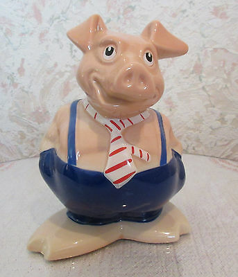 Natwest Wade Maxwell Pig Money Box ( Charity Sale)