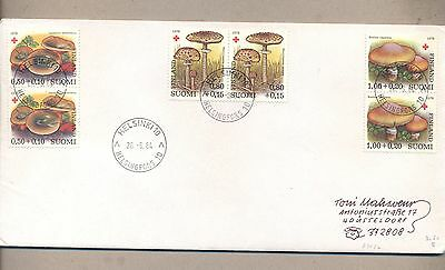 Finland 1984 Used Cover Mushrooms See scan..