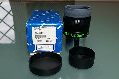 Eyepieces Takahashi LE 5mm ED