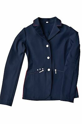 John Whitaker Navy Star Competition/show Jacket Age13/14yrs