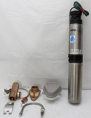"Franklin 93782015 4"" SUBMERSIBLE WELL WATER PUMP 3/4HP 20GPM 230V w/Drop In Kit"
