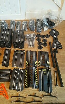 Artin track over 300 pieces (  slot car scalextric )