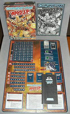 Chainsaw Warrior Games Workshop GW RPG Board Game 1987 +EXTRAS COMPLETE VGC RARE
