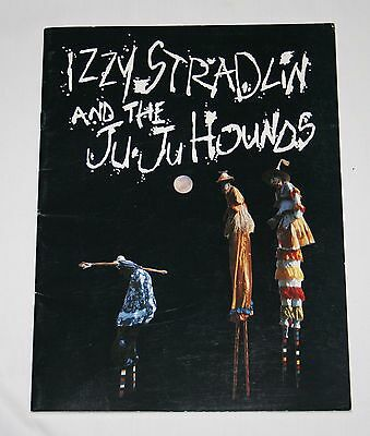Izzy Stradlin and the Ju Ju Hounds Official Tour Program for Japan 1993