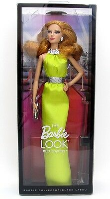Barbie Red Carpet YELLOW GOWN LOUBOUTIN MODEL Doll SOLD OUT NEW NIB The Look