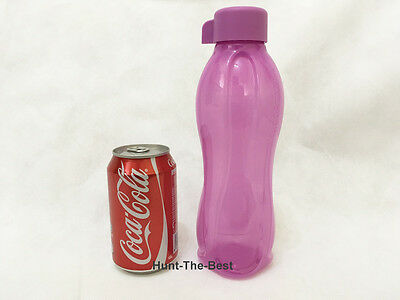 New Tupperware H2O On The Go Eco Bottle Water Drink Sport 750ml (1) Purple