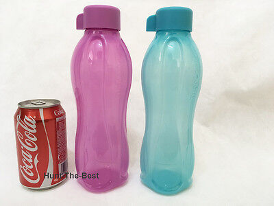 New Tupperware H2O On The Go Eco Bottle Water Drink Sport 750ml (2)