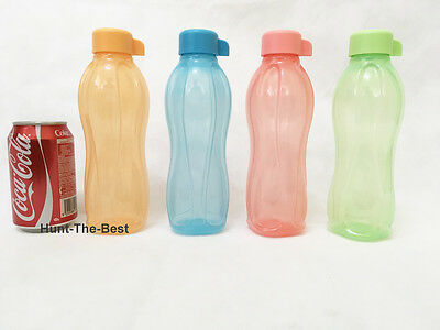 New Tupperware H2O On The Go Eco Bottle Water Drink Sport 500ml (4)