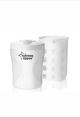 tommee tippee closer nature steriliser cold water/microwave single bottle travel