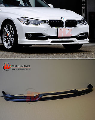Bmw F30 F31 3 Series Front Bumper Lip Splitter | Pu Plastic | Uk Stock