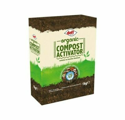 Doff Organic Natural Granular Compost Composting Activator Resealable Pouch 1Kg