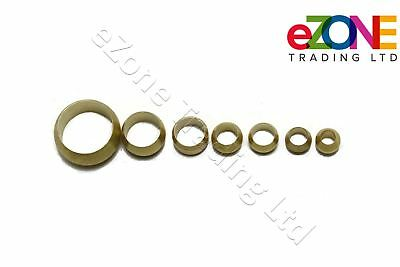 Brass Compression Olives Imperial and Metric Plumbing Barrel Pipe Various Sizes