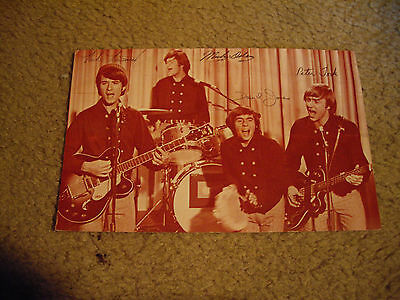 Monkees Club Picture Post Card 1967