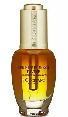 L'Occitane Immortelle Divine Youth Oil 1oz,30ml Anti-Aging Firm Lift NEW.