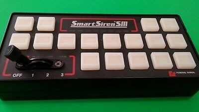 Federal Signal SS2000SM  Control Head for replacement. Factory refurbished