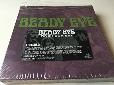 Beady Eye 7Inch Box Set With Poster Down Load Card Box Only