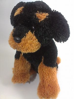 Ty Buddy ROTTWEILER PLush Puppy Dog 2009 Doberman Pinscher Soft Toy 12""
