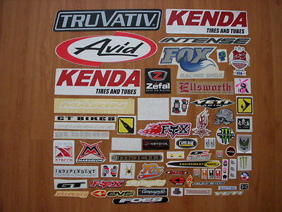 50 + lot cycling stickers decals bike BMX frame MTB nos road new race tire