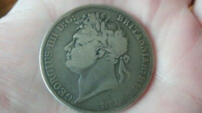 George 1V  1822 Tertio Silver Crown