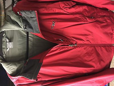 Outdoor Research Primaloft Insulating Jacket, Size Medium, Colour Red