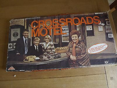 1977 Vintage Crossroads Motel Board Game