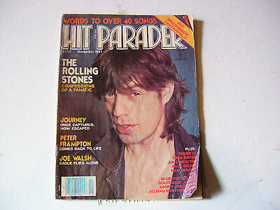 Collector Hit Parader Juice Newton Beatlemania Kiss Blue Oyster Cult Journey