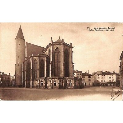 [88] Epinal - Eglise St-Maurice XIe siècle.